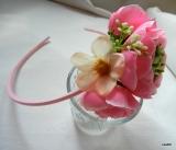 eb4e6e356f2 Čelenka květinová růžová